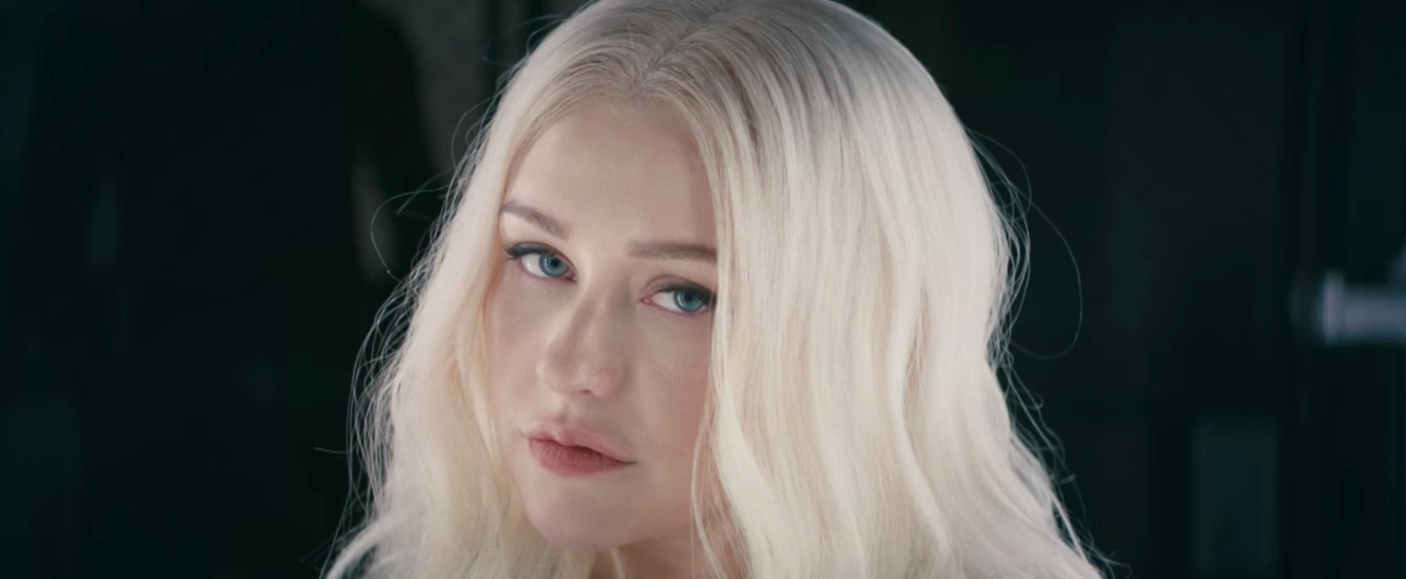 """Christina Aguilera and Demi Lovato's """"Fall in Line"""" Video"""