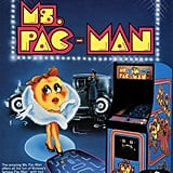 Watch out, here comes the femme fatale of the game world — Ms. Pac-Man.
