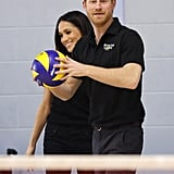 In April 2018, he and Meghan Markle took part in a volleyball match during the UK team trials for the Invictus Games.