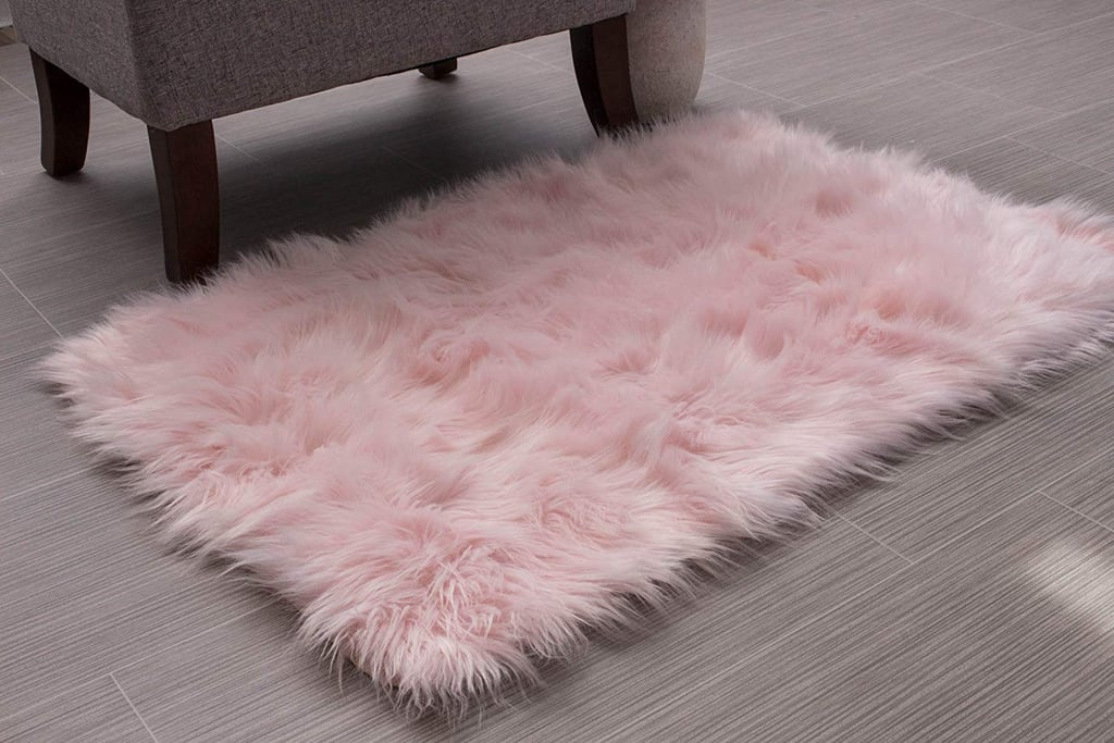 Soft Faux Fur Sheepskin Shag Rug