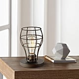 Oldham Industrial Modern Uplight Desk Table Lamp