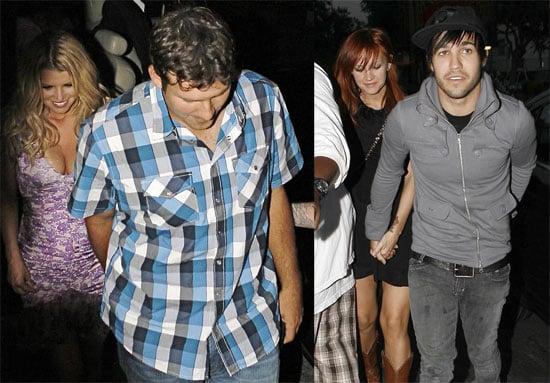 Photos of Jessica Simpson Celebrating Her Birthday With Tony Romo, Pete Wentz, Ashlee Simpson