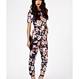 Missguided Keiko Floral Jumpsuit