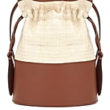 Hunting Season The Lola Large Raffia Bucket Bag
