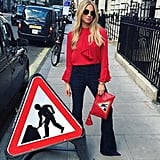 For the Girl: Who's as Flashy and Look-at-Me Cool as a Street Sign