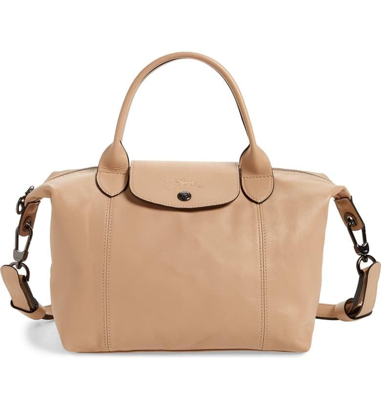 Longchamp Le Pliage Cuir Leather Shoulder Bag   Best Nordstrom ...