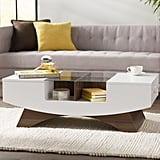 Madilynn Trestle Coffee Table with Storage