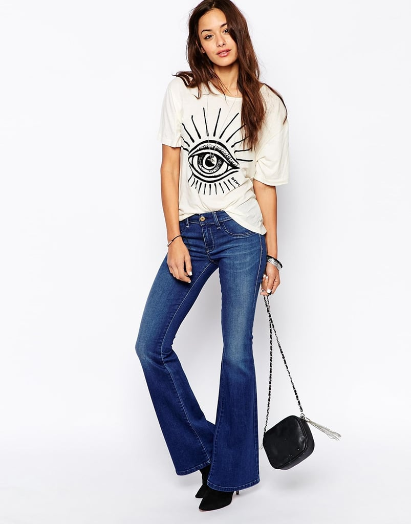 e751a1fd Diesel Livier Flared Jeans, $211.54