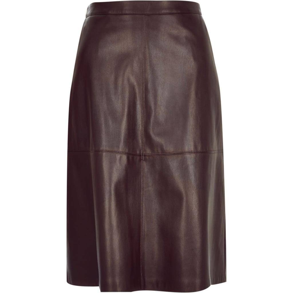 River Island Dark Midi Skirt ($64)