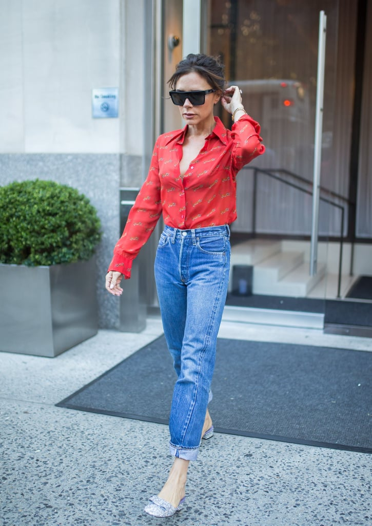 Victoria Beckham Doesn't Wash Jeans