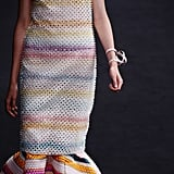As if rainbow stripes weren't enough, we loved the texture of this dress from the Christian Dior Haute Couture Fall 2013 collection.