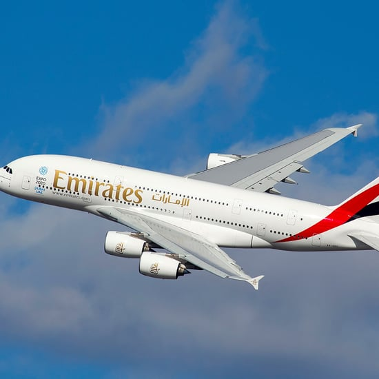 Emirates Flight Crew Pours Champagne Back Into Bottle