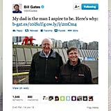 On Father's Day, Microsoft founder Bill Gates commemorated his dad, a retired attorney who recently received a lifetime achievement award from the University of Washington.