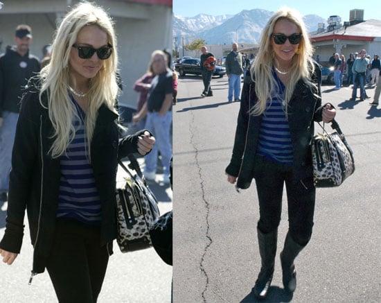 Lindsay Lohan's Got Her Sober Smile