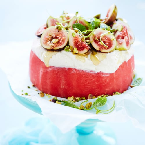 Watermelon Cake Recipe POPSUGAR Fitness Australia
