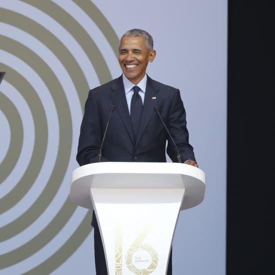 Barack Obama Dancing in Africa July 2018