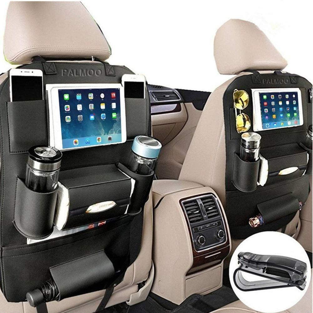Palmoo Pu Leather Car Seat Back Organizer
