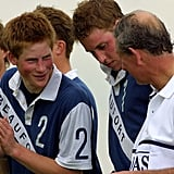 Pictures of Prince William and Prince Harry Playing Sports