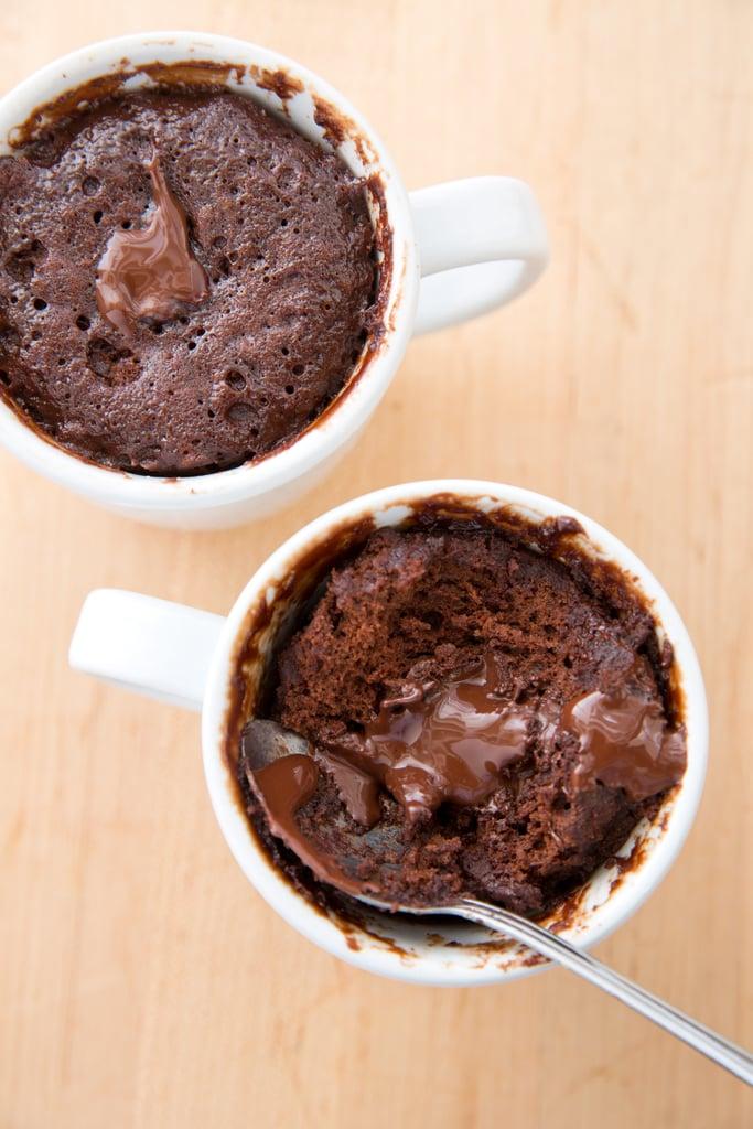 Coffee Mug Molten Chocolate Cake