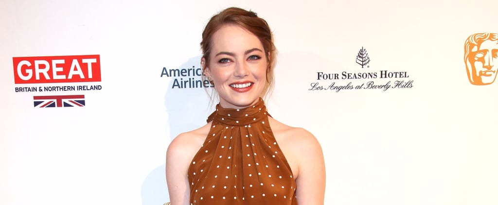 Emma Stone Had a Pretty Woman Moment You Didn't See at the Golden Globes