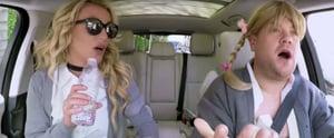 Britney Spears Breaks Out Her Schoolgirl Uniform For Her Nostalgia-Filled Carpool Karaoke