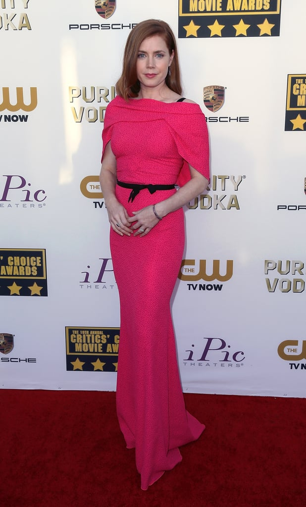 Amy Adams at the Critics' Choice Awards