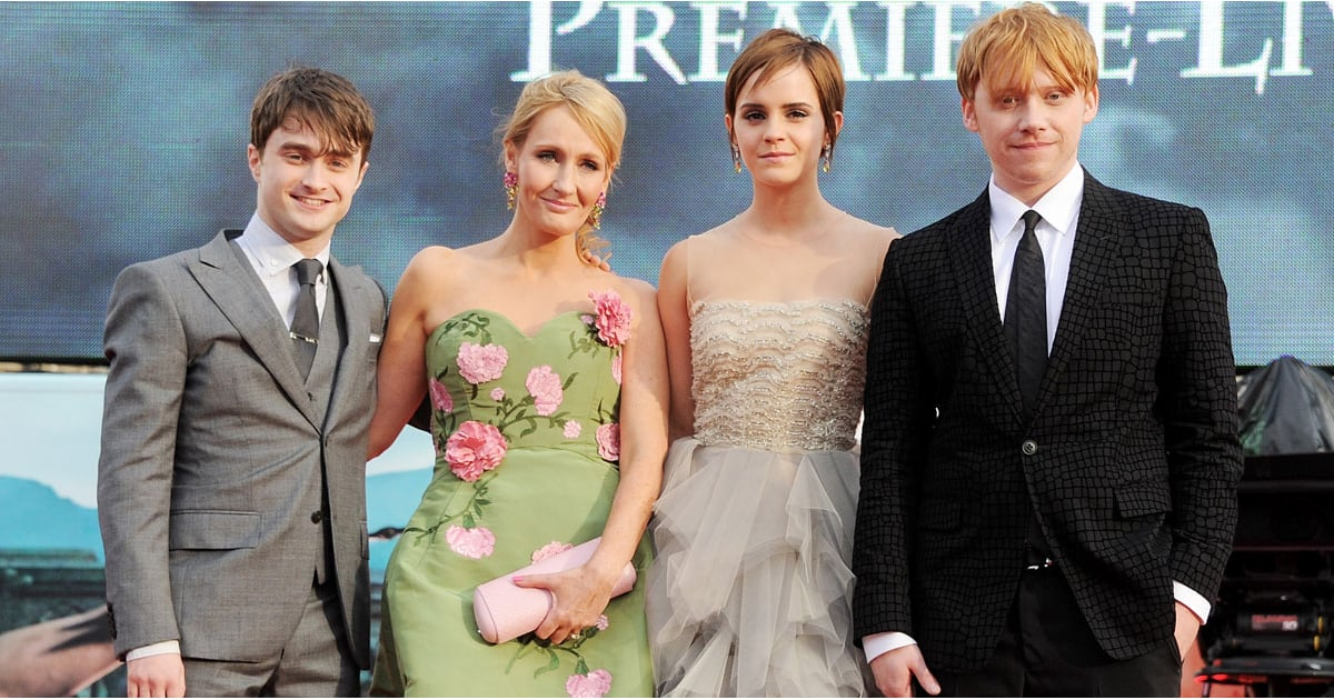 Jk rowling and the harry potter cast through the years popsugar jk rowling and the harry potter cast through the years popsugar celebrity m4hsunfo
