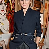 Olivia Palermo was fresh faced at Stella McCartney's Green Carpet Collection event on Sunday.
