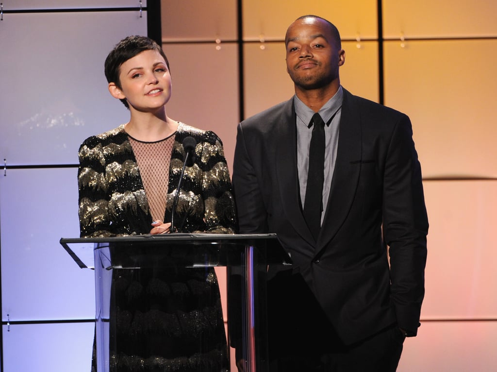 Ginnifer Goodwin and Donald Faison shared the stage at the Critics' Choice Television Awards in LA.