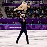 Alexa and Chris Knierim's Moulin Rouge Routine 2018 Olympics