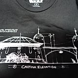 Of all the architecturally inspired designs, this Cantina tee was our favorite. Don't be too sad you didn't get one — it's only two more years till we experience it IRL!
