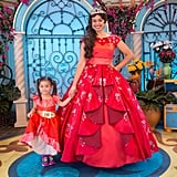 Disney California Adventure Park: Disney Festival of Holidays Elena Character Greeting