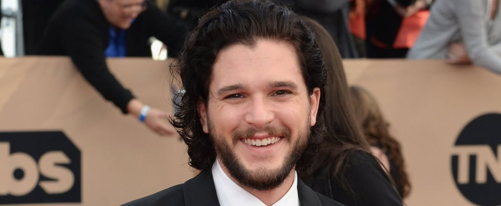Kit Harington's Ear-to-Ear Grin at the SAG Awards Will Be Your New Favorite Thing