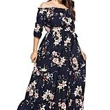 Selenal Split Floral Maxi Dress
