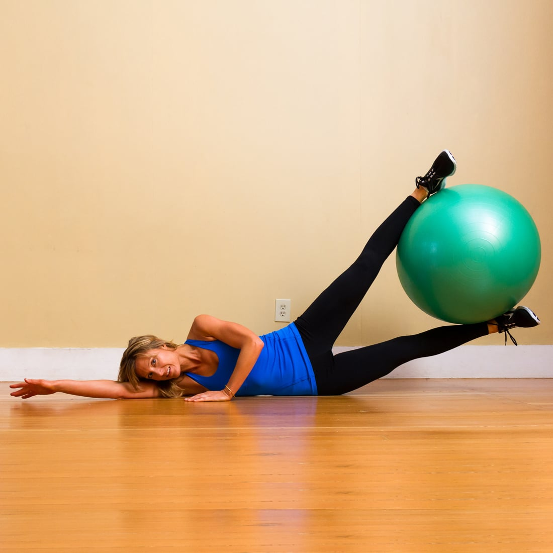 Stability Ball Side Lift: All-Time-Best Inner-Thigh Exercises