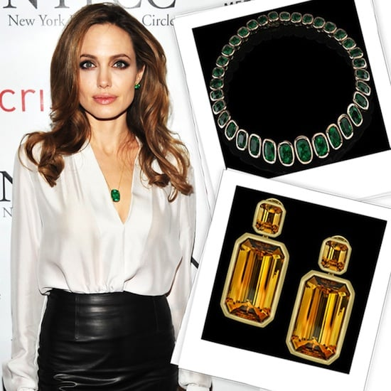 See Angelina Jolie's Engagement Ring and More When Her Style of Jolie by Robert Procop Jewellery Collection Tours!
