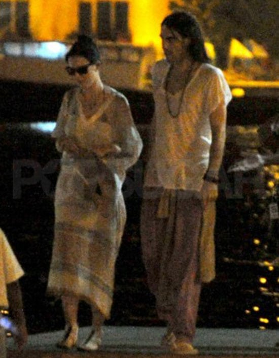 Pictures of Katy Perry and Russell Brand Honeymoon