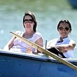 Pippa Middleton and George Percy Row Away Another Day in Spain