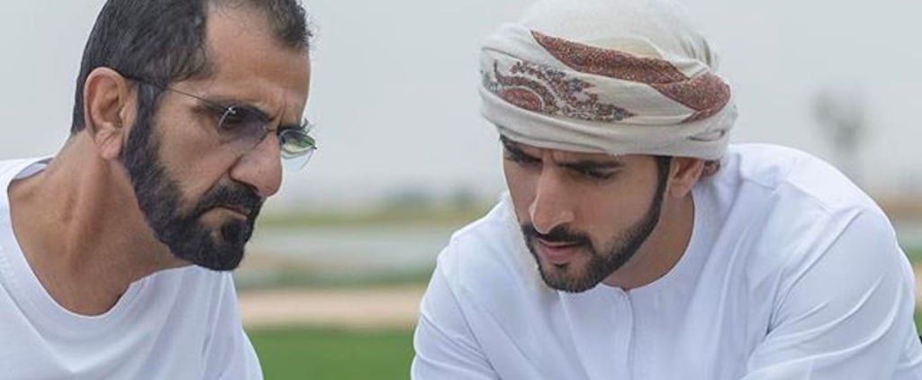 Sheikh Hamdan Thanks Window Cleaners in Video
