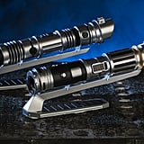 A look at the lightsabers that can be customized at Savi's Workshop.