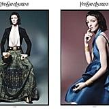 Mariacarla Boscono looks a bit alien-like in the YSL Spring '12 ads. Source: Fashion Gone Rogue