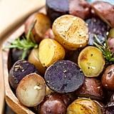 Garlic Rosemary Tri-Color Potatoes