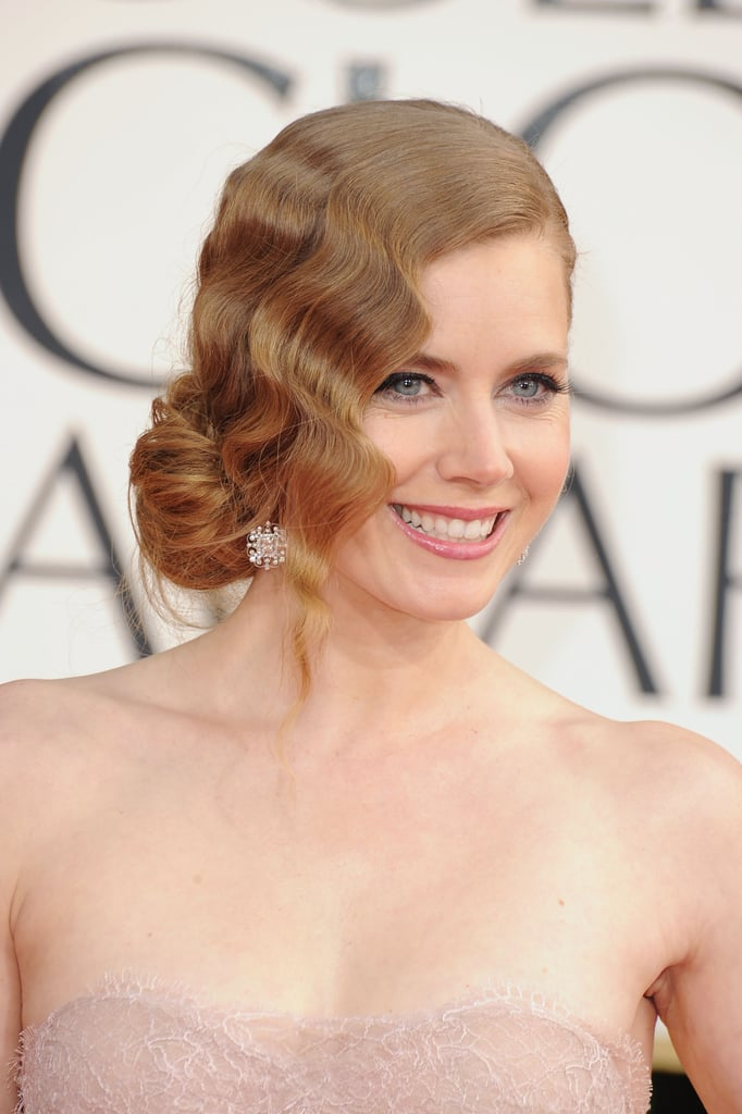 Amy Adams smiled on the red carpet.