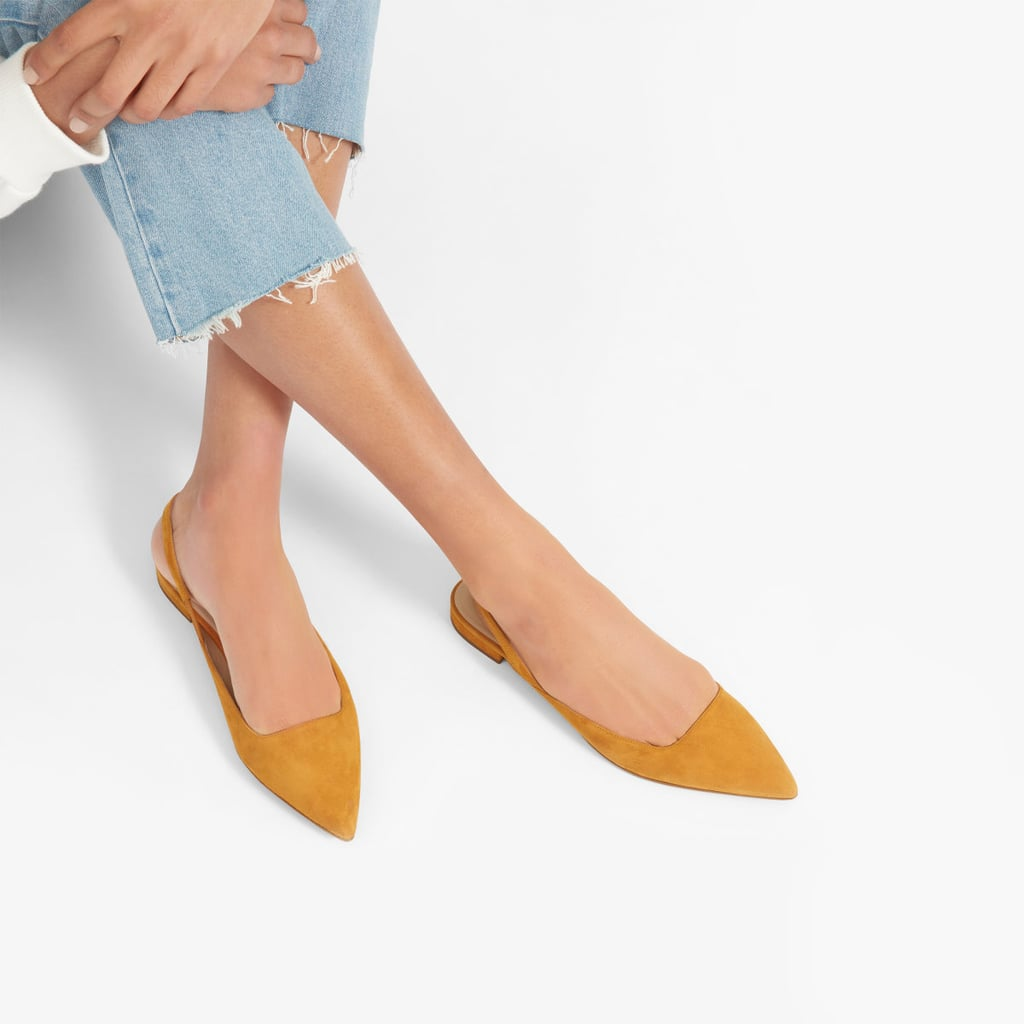 284f25833 Everlane The Editor Slingback Flats | Best Comfortable Flats 2019 ...