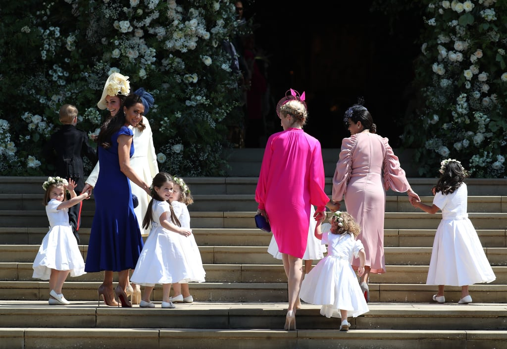 Givenchy Bridesmaid Shoes at the Royal Wedding 2018
