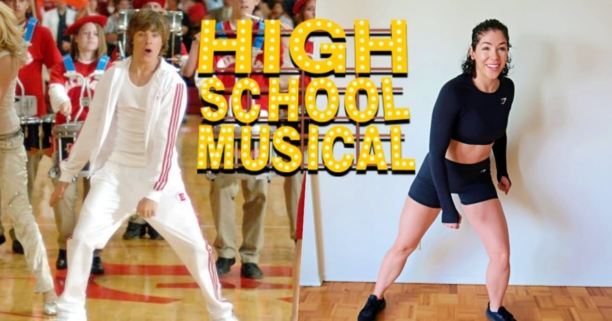 Get Nostalgic and Dance Along With This 10-Minute High School Musical Cardio Workout