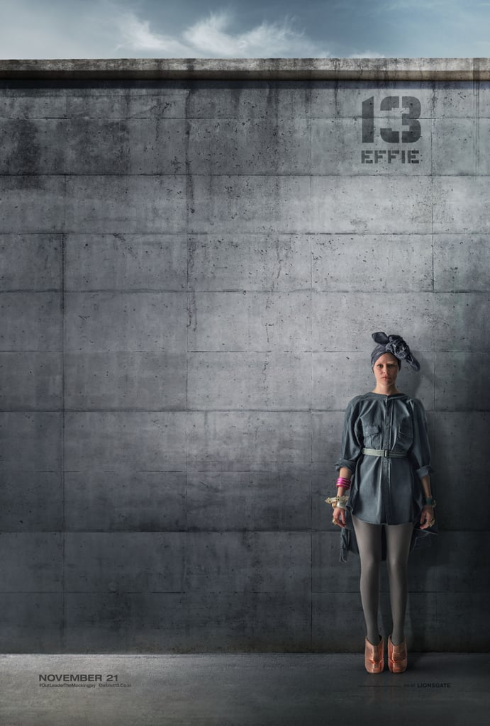 Effie Doesn't Even Look Like Effie in These New Mockingjay Posters