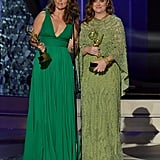 At the 2016 Emmys, Amy shared her award for best outstanding guest actress in a comedy series with Tina for their joint appearance on Saturday Night Live's Christmas episode.