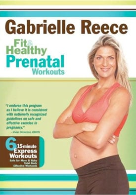 DVD Review: Fit and Healthy Prenatal Workouts With Gabrielle Reece