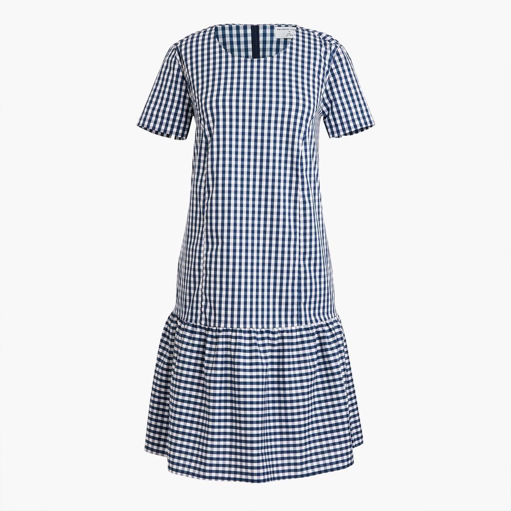 Universal Standard x J.Crew Poplin Drop-waist Dress